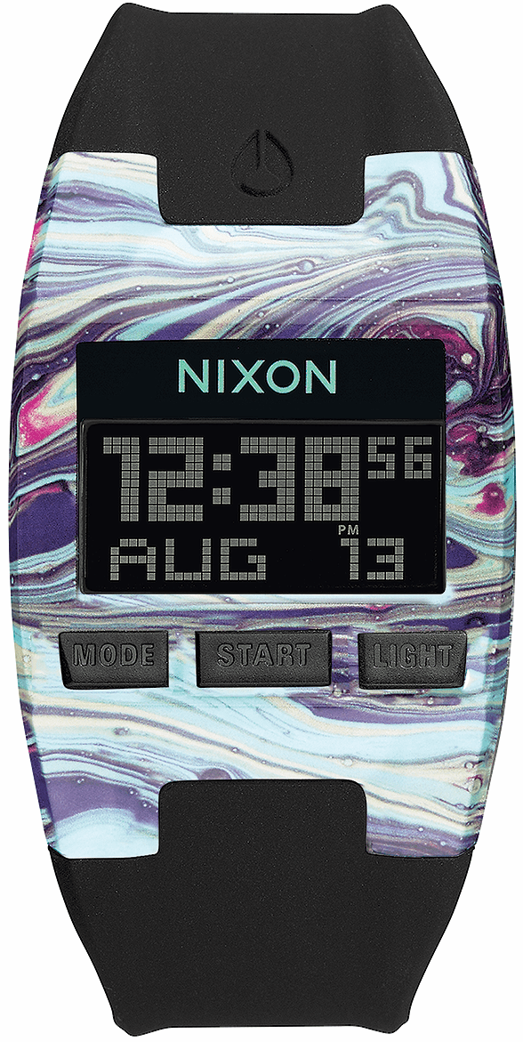 (SALE!!!) Nixon Comp S Watch<br>Marbled Multi/Black