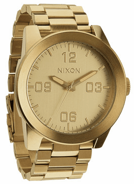 Nixon Corporal SS Watch<br>All Gold