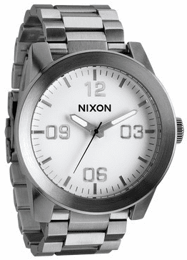Nixon Corporal SS Watch<br>White