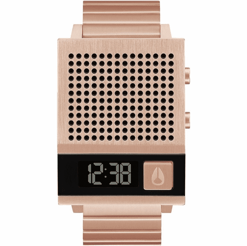 Nixon Dork Too Watch<br>All Rose Gold