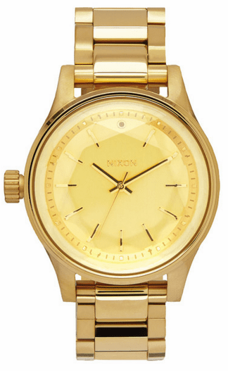 (SALE!!!) Nixon Facet 38 Watch<br>All Gold