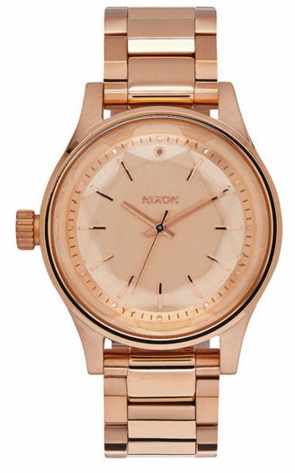 Nixon Facet 38 Watch<br>All Rose Gold