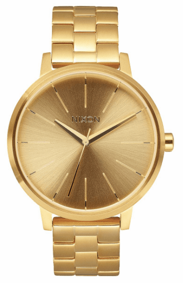 Nixon Kensington Watch <BR>All Gold