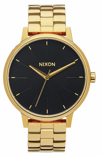 Nixon Kensington Watch<br>All Gold/Black Sunray