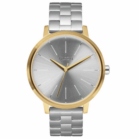 Nixon Kensington Watch<br>Gold/Silver/Silver