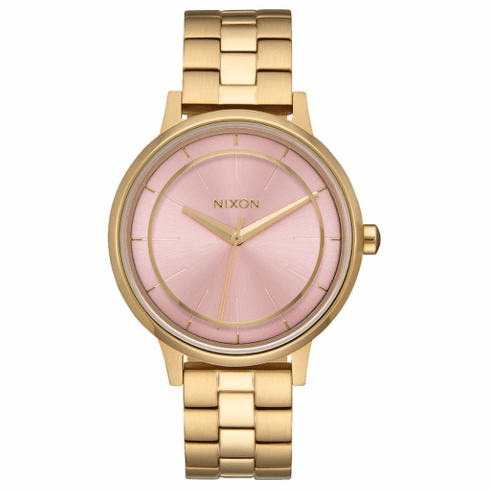 (Sale!!!) Nixon Kensington Watch<br>Light Gold/Pink