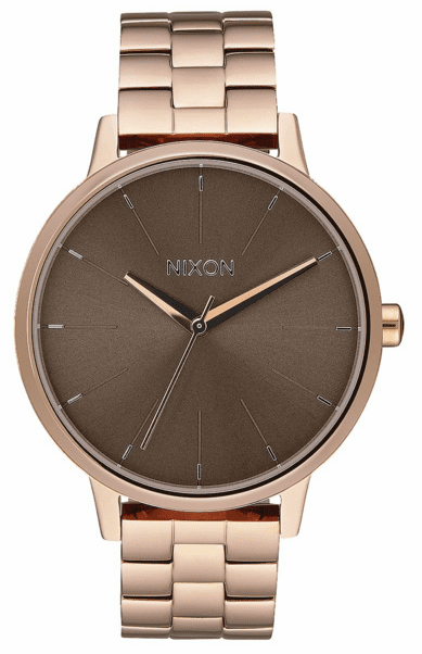 (SALE!!!) Nixon Kensington Watch<br>Rose Gold/Taupe
