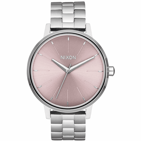 Nixon Kensington Watch<br>Silver/Pale Lavender