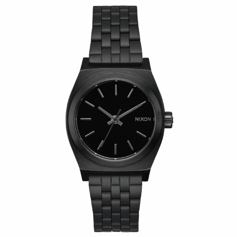 Nixon Medium Time Teller Watch<br>All Black