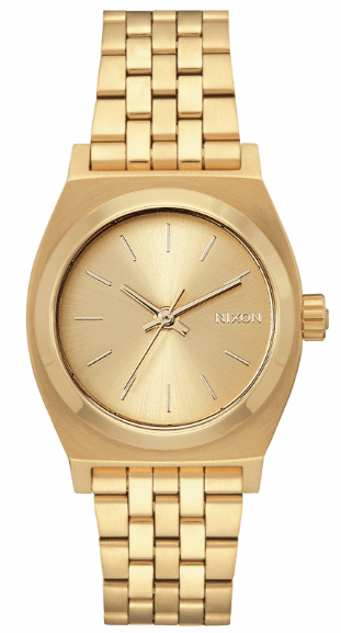 Nixon Medium Time Teller Watch<br>All Gold