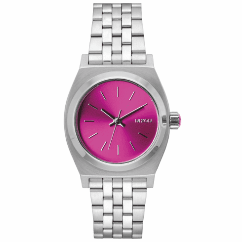 Nixon Medium Time Teller Watch<br>Pink B4BC