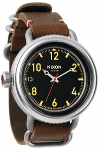 Nixon October Leather Watch<br>Mens