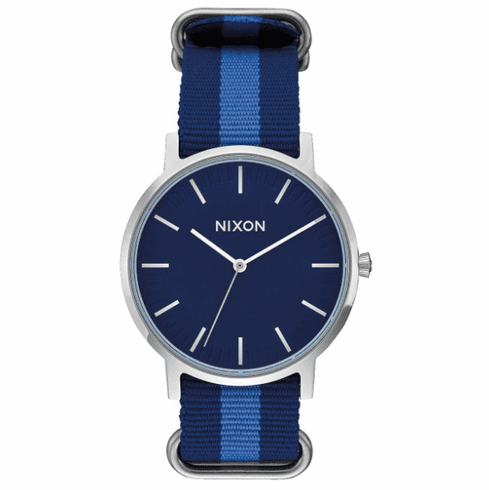 Nixon Porter Nylon Watch<br>Navy