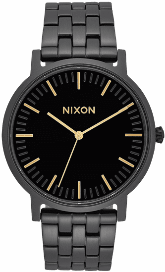 Nixon Porter Watch<br>All Black/Gold