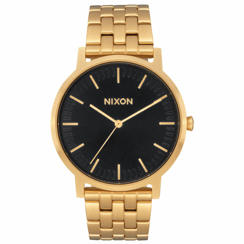 Nixon Porter Watch<br>All Gold/Black Sunray