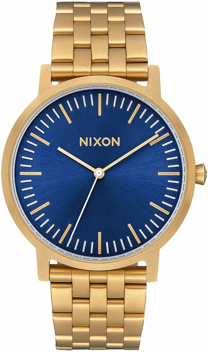 (SALE!!!) Nixon Porter Watch<br>All Gold/Blue Sunray