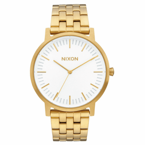Nixon Porter Watch<br>All Gold/White Sunray