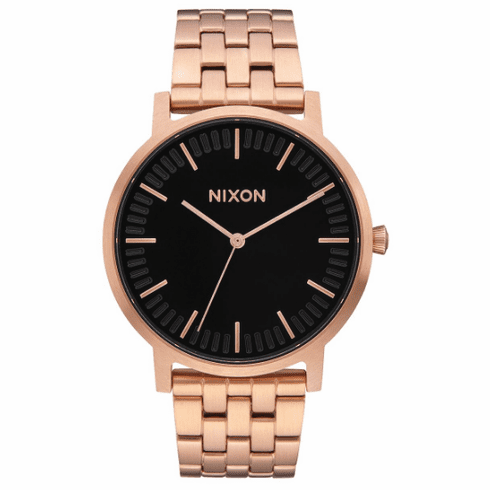 (SALE!!!) Nixon Porter Watch<br>All Rose Gold/Black