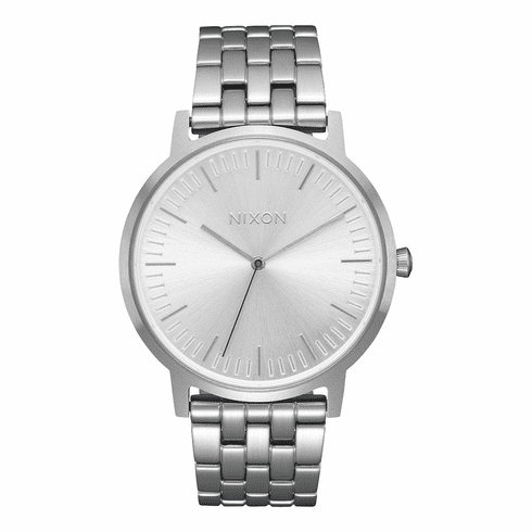 Nixon Porter Watch<br>All Silver