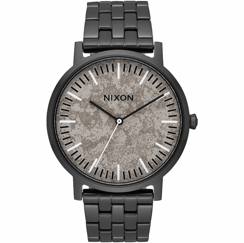 (Sale!!!) Nixon Porter Watch<br>Black/Concrete