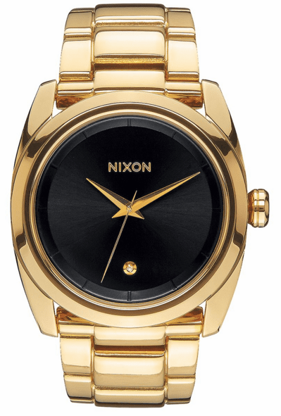 (SALE!!!) Nixon Queenpin Watch<br>All Gold/Black