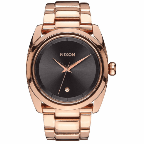 Nixon Queenpin Watch<br>All Rose Gold/Gunmetal
