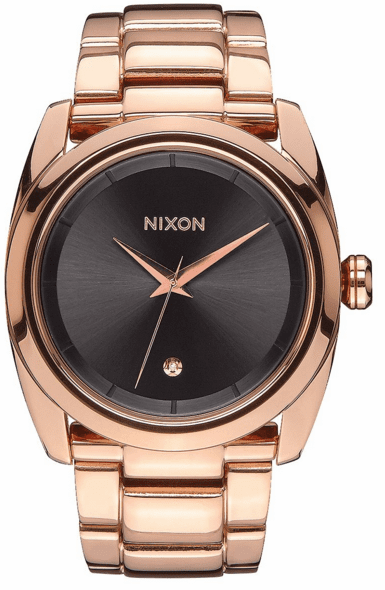 (SALE!!!) Nixon Queenpin Watch<br>All Rose Gold/Gunmetal