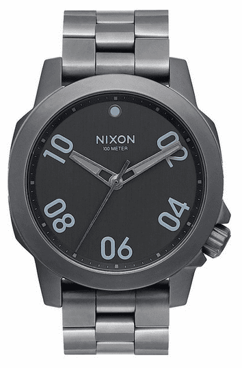 Nixon Ranger 40 Watch<br>All Gunmetal