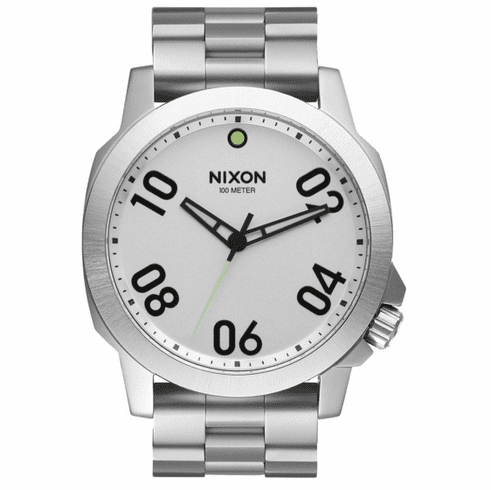 Nixon Ranger 45 Watch<br>All Silver