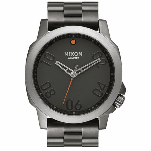 (SALE!!!) Nixon Ranger 45 Watch<br>Gunmetal/Black
