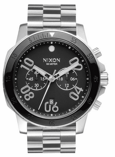 Nixon Ranger Chrono Watch<br>Black