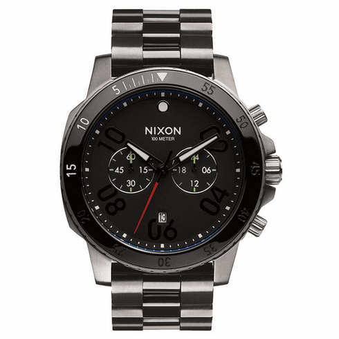 (SALE!!!) Nixon Ranger Chrono Watch<br>Gunmetal/Black
