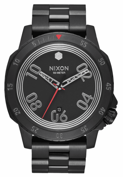 Nixon Ranger Watch<br>STAR WARS X NIXON<br>Kylo Black