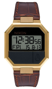 Nixon Re-Run Leather Watch<br>Unisex