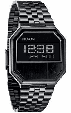Nixon Re-Run Watch<br>All Black