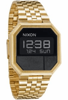 Nixon Re-Run Watch<br>All Gold