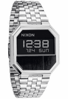Nixon Re-Run Watch<br>Black