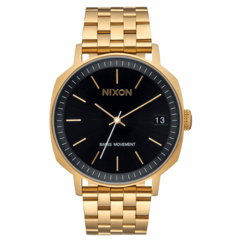 Nixon Regent II SS Watch<br>Gold/Black Sunray