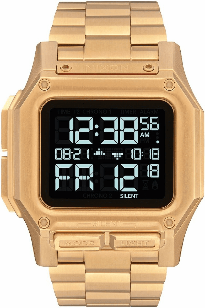 Nixon Regulus SS Watch<br>All Gold