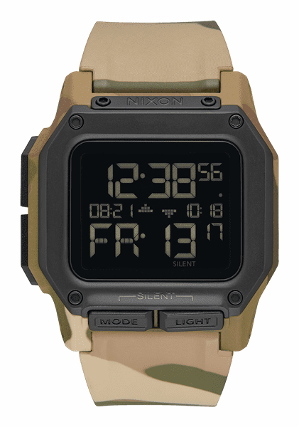 Nixon Regulus Watch<br>Multicam