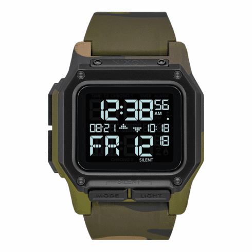 Nixon Regulus Watch<br>Multicam Tropic