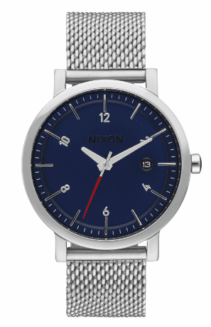 Nixon Rollo 38 SS Watch<br>Navy