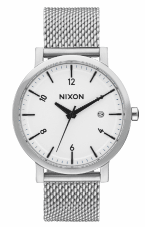 Nixon Rollo 38 SS Watch<br>White/Sunray