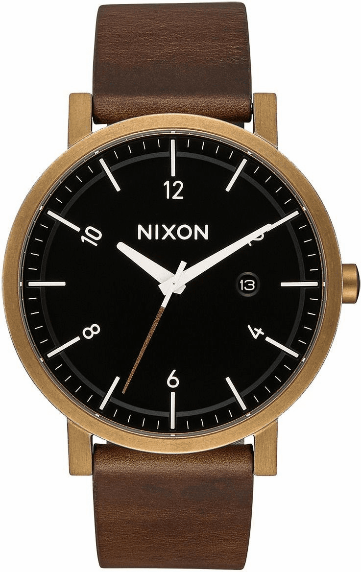 Nixon Rollo Watch<br>Brass/Black/Brown