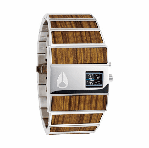 Nixon Rotolog Watch<br>Teak Wood</font><br>