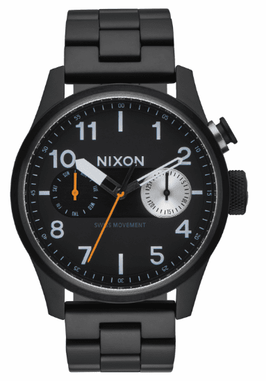 Nixon Safari Deluxe Watch<br>All Black