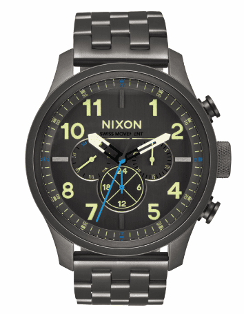 Nixon Safari Dual Time Watch<br>Men's