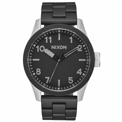 (SALE!!!) Nixon Safari Watch<br>Black/Steel