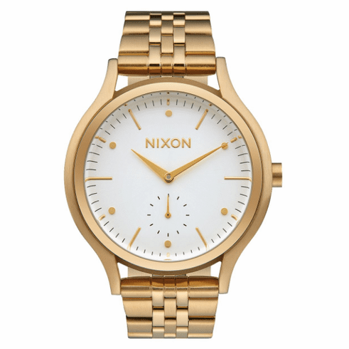 Nixon Sala Watch<br>Gold/White