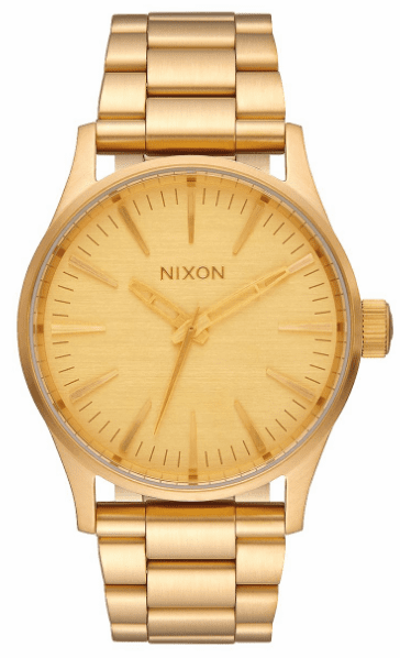 Nixon Sentry 38 SS Watch<br>All Gold